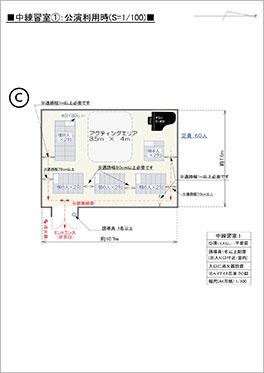 中練習室1 Cパターン